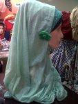 Jilbab langsung pakai kerut depan @40rb