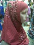 Jilbab langsung pakai motif cantik - minat hub 08385562742. jilbab murah surabaya