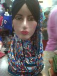 jilbab motif boneka lucu -minat hub 08385562742. jilbab murah surabaya